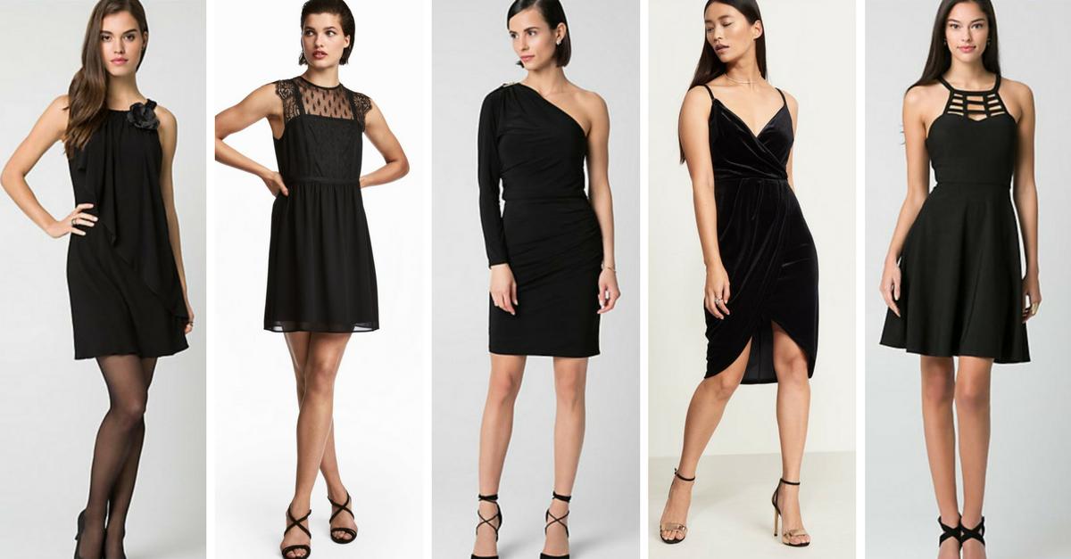 La robe noire parfaite pour ta silhouette