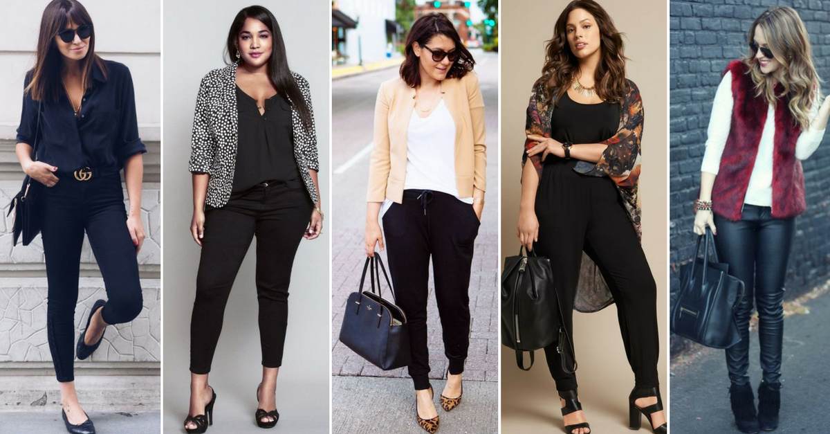 10 Idées express pour porter tes pantalons noirs