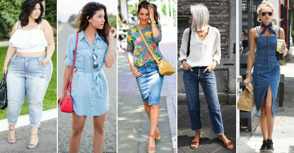 Tes 35 meilleures idées pour porter du jeans cet été