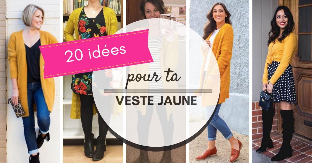 20 Idées et astuces pour porter une veste jaune moutarde