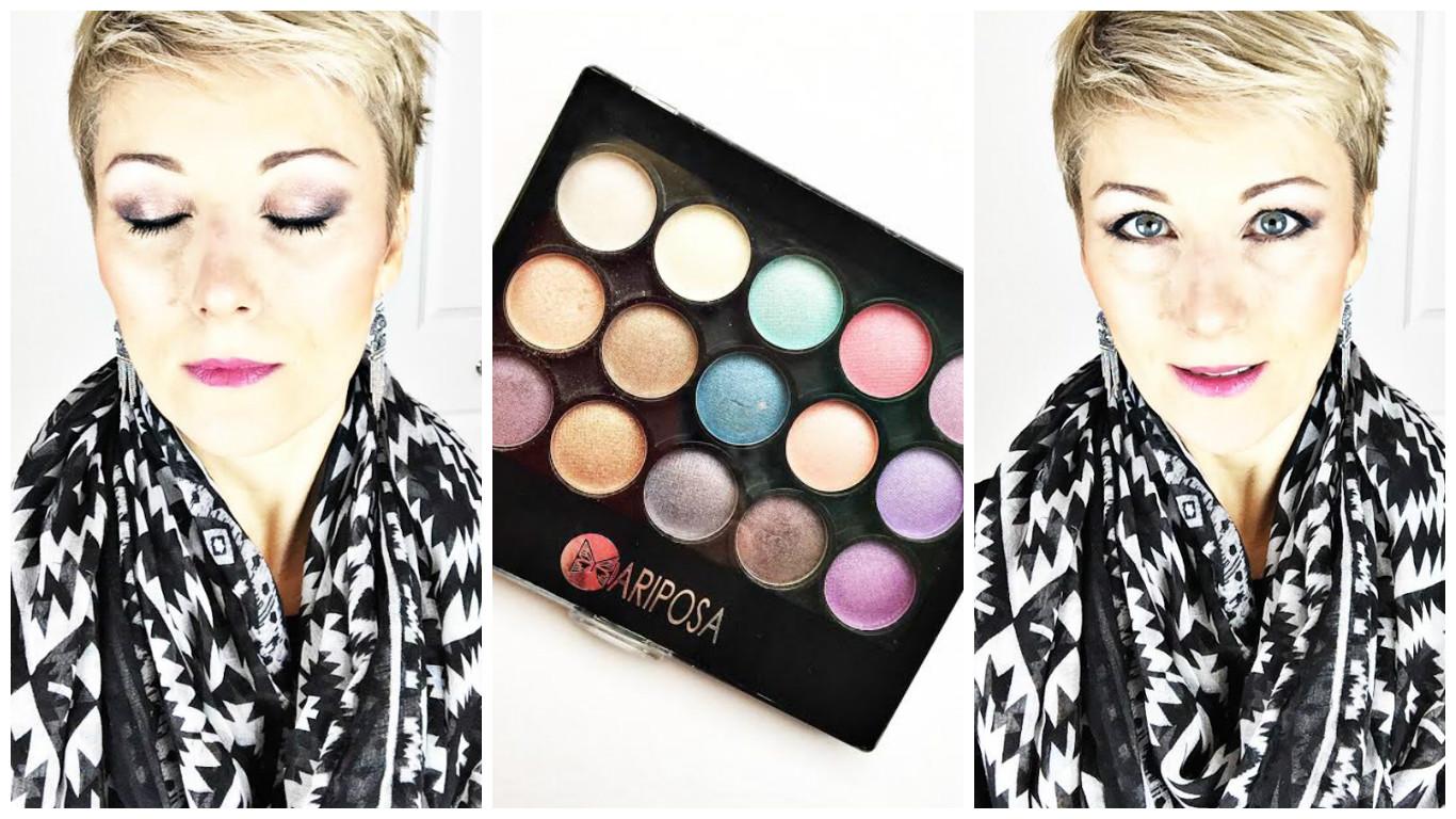 Testé: Maquillage du Dollarama – palette Mariposa