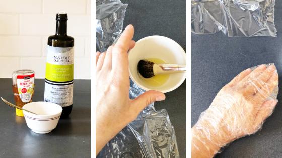 DIY: masque soin pour les mains 2 ingrédients